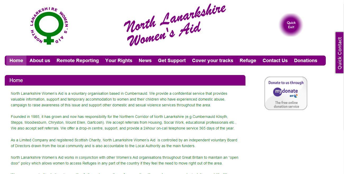 North Lanarkshire Womens Aid